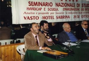 Mario parla ad un seminario - 1993